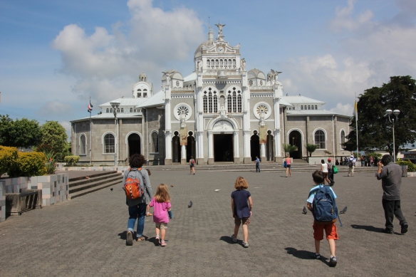 The Basilica of our Lady of the Angels in Cartago