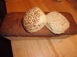 Rolls and bread of the highest quality.