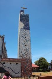 La iglesia de Cañas.