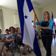 Melissa Rubles is headed to Honduras.