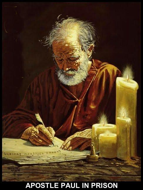 APOSTLE PAUL-IN PRISON*