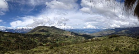 We have to cross a mountain range to get to Abancay.