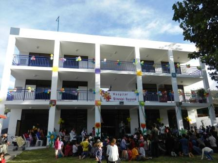 Inauguration of the house for the Kids Clubs in April of 2012