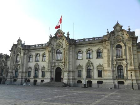 The Government Palace, the venue of the meeting