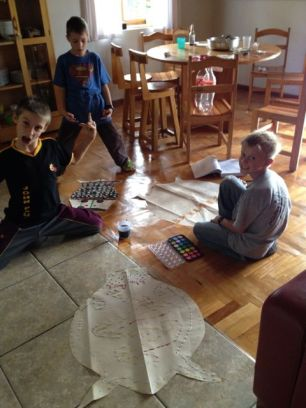 Crazy Peter, Benjamin, and John Paul