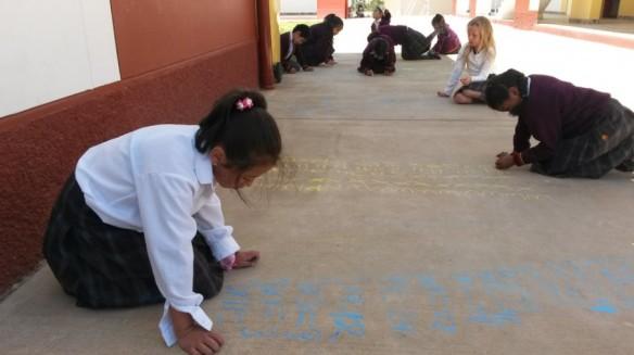 Math in the schoolyard
