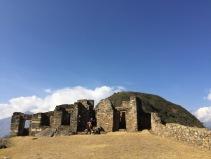 At the ruins