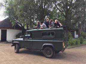 Off we go on safari.